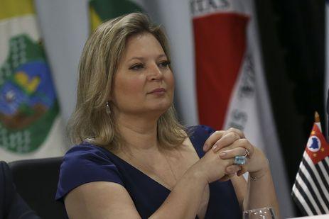 A deputada Joice Hasselmann participa da 5ª Reunião do Fórum de Governadores.