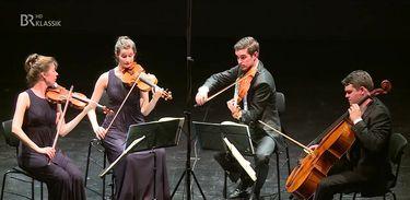 O Quarteto Aris no Festival ARD