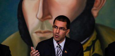 O chanceler da Venezuela, Jorge Arreaza