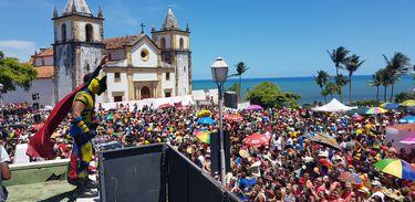 Olinda (PE) - Blocos de carnaval agitam foliões pernambucanos e visitantes  (Sumaia Villela/Agência Brasil)