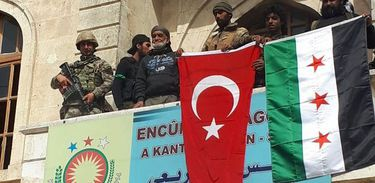 Turquia assume controle de Afrin - Foto Agência EFE