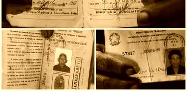 Registro da carteira dos trabalhadores