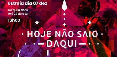 """Espetáculo """"Hoje não saio daqui"""" celebra presença angolana na Maré"""