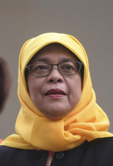 Halimah Yacob será a primeira mulher a presidir Cingapura