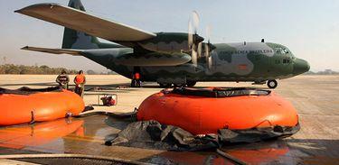 Aviões da FAB serão utilizados no combate a incêndios florestais no Chile