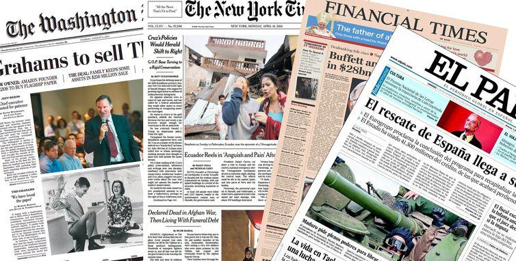 Jornais internacionais destacam eleição no Brasil