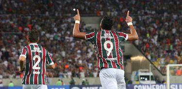 O Fluminense venceu o jogo de ida por dois a zero