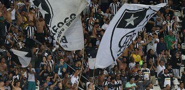 Torcida do Botafogo no Engenhão