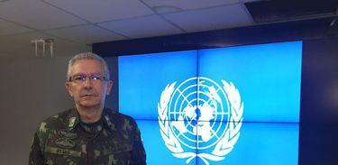 General de divisão Elias Rodrigues Martins Filho, nomeado para chefiar o contingente militar da missão da ONU na República Democrática do Congo, MONUSCO. Foto: Ministério da Defesa/Governo do Brasil