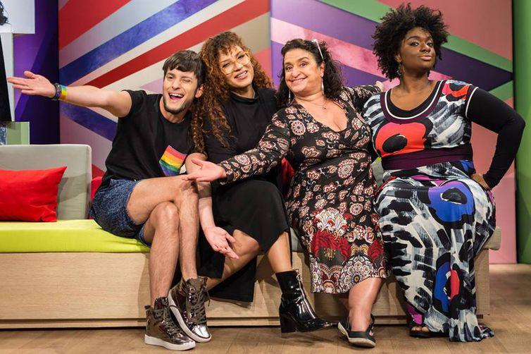 Fefito, Mel Gonçalves, Grace Gianoukas e Ellen Oléria