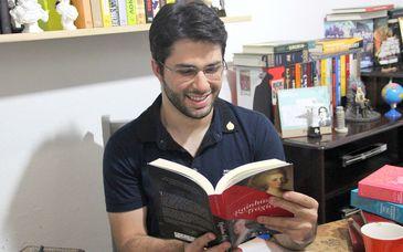 """Historiador Renato Drummond Neto, autor do livro """"Rainhas Trágicas"""""""