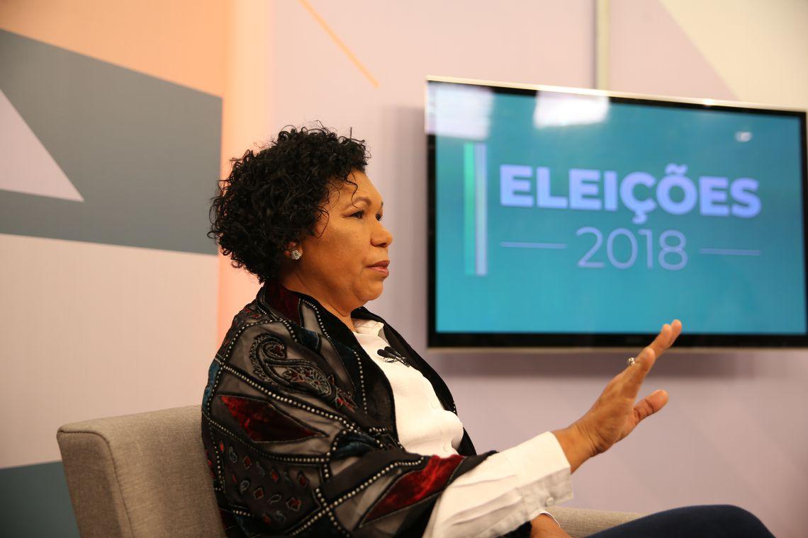 A Empresa Brasil de Comunicação (EBC) entrevista a candidata à Presidência da República pelo PSTU, Vera Lúcia. Ela é a sétima a participar da série de entrevistas da EBC com presidenciáveis.