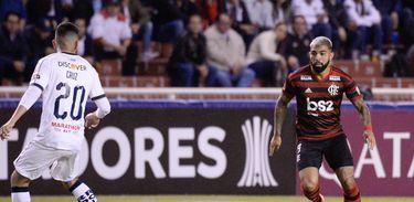 LDU 2 x 1 Flamengo