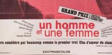 Cartaz do filme Um Homem, Uma Mulher