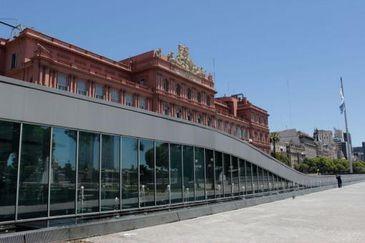 Casa Rosada, sede do governo argentino