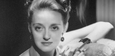 Retrato de Bette Davis em 1938