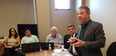 Reunião intervenção em Roraima