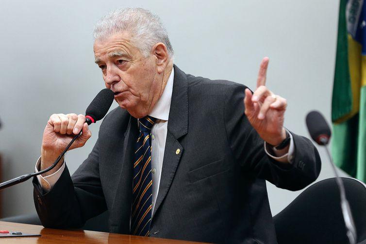 Brasília - Deputado Nelson Marquezelli preside sessão para instalação da comissão especial que vai debater o projeto de lei de privatização da Eletrobras (Valter Campanato/Agência Brasil)
