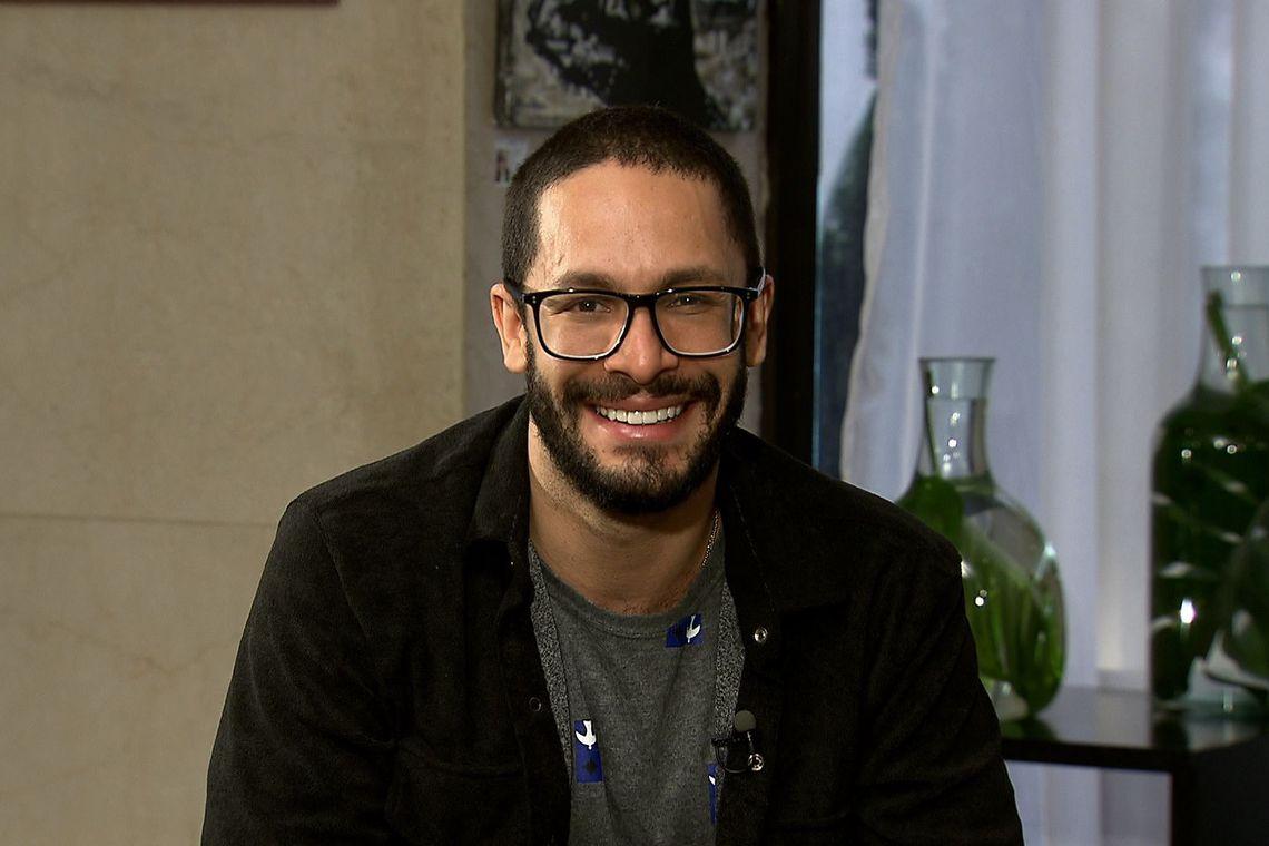 O ator Rainer Cadete