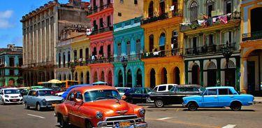 Centro antigo de Havana