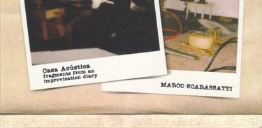 Capa do álbum Casa Acústica, de Marco Scarassatti