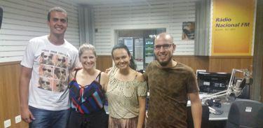 Integrantes do grupo Sandália de Prata