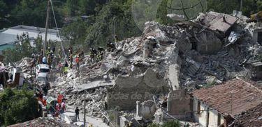 Terremoto na Itália - Divulgação EPA