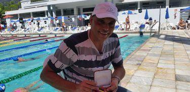 Nadador brasileiro Marcus Mattioli