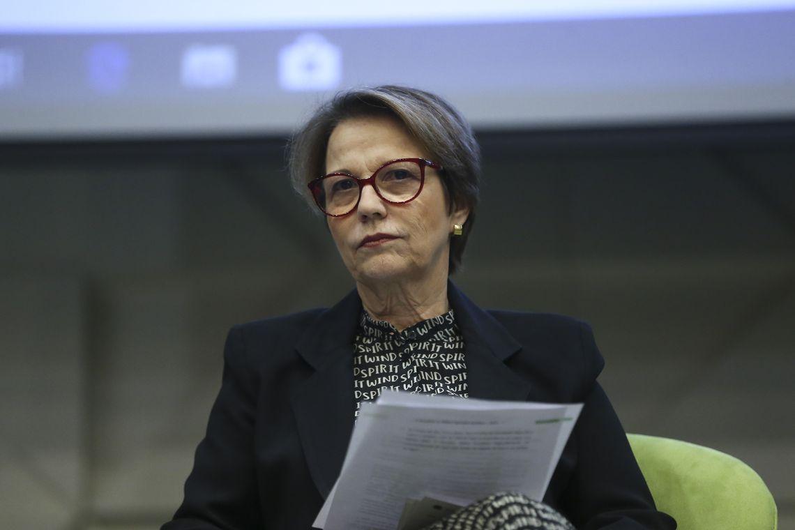 A ministra da Agricultura, Tereza Cristina, participa de encontro de adidos agrícolas brasileiros,  promovido pela Apex-Brasil