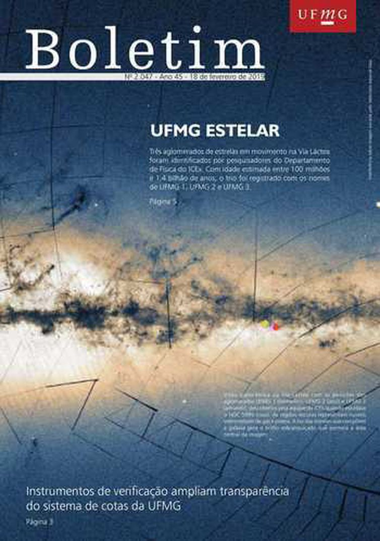 Capa da edição 2.047 do Boletim UFMG