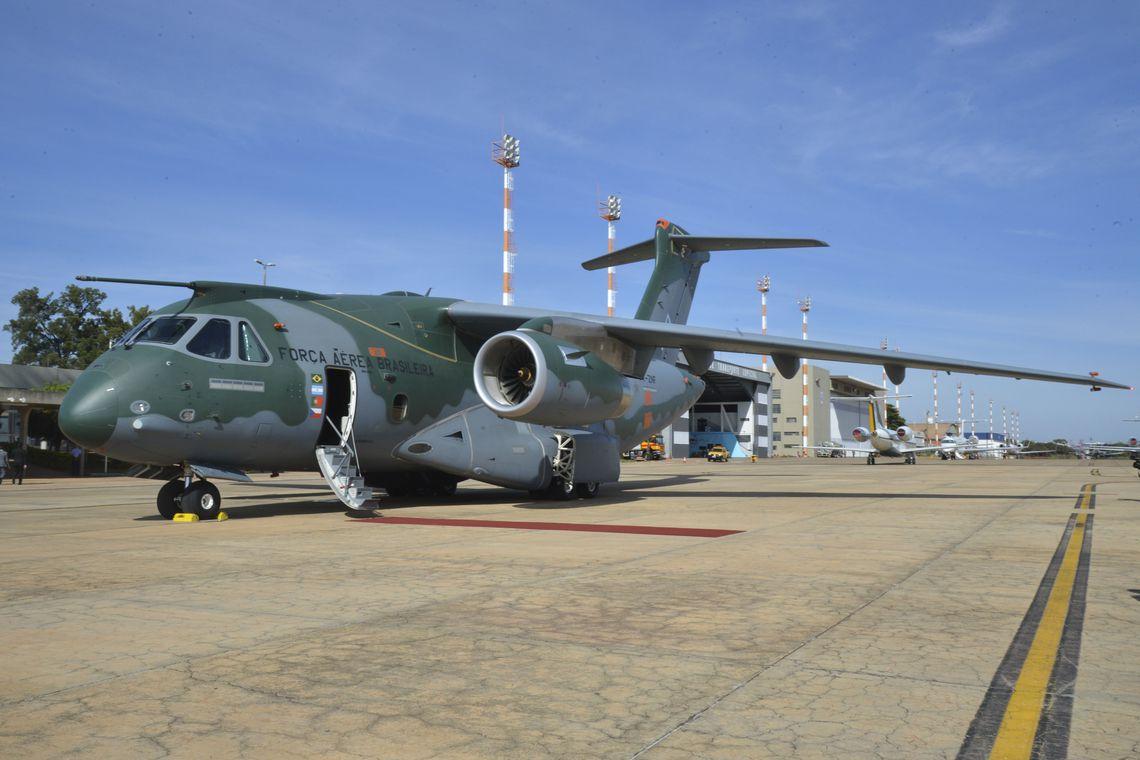 Avião da FAB K-C-390