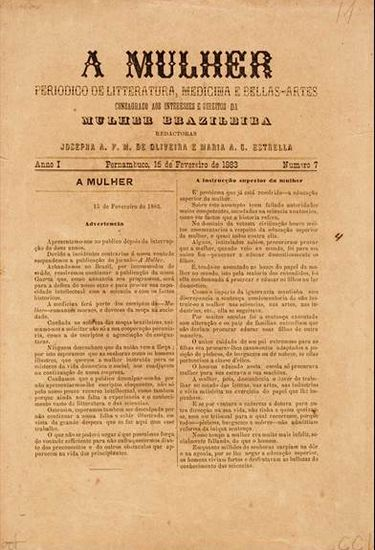 Publicação A Mulher (Reprodução)