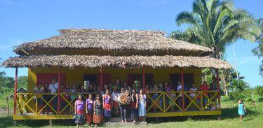 Povo Huni Kuin do Rio Murú, em Tarauacá, Casa de Produção e Cultura da Mulher Indígena