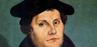 Quadro do pintor Lucas Cranach o Velho: Martin Luther (1529)