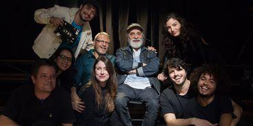 Atos recebe Renato Borghi e produção .