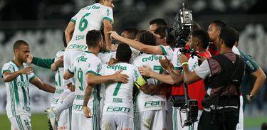 Botafogo 1 X 2 Palmeiras