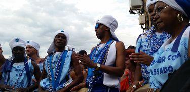 Bloco de afoxé anima o carnaval de fortaleza