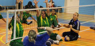 Seleção brasileira feminina de vôlei sentado - Divulgação/CPB