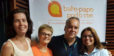 Alessandra Eckstein, Sônia Maria Braga, Cadu Freitas e Cláudia Soares