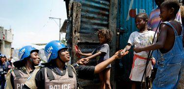 A nova missão da ONU no Haiti, Minujusth, começou em outubro do ano passado