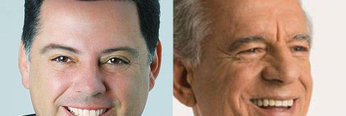 Marconi Perillo (PSDB) e Iris Rezende (PMDB) disputam o 2º turno em Goiás
