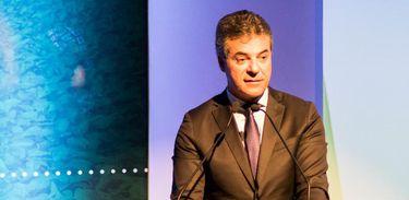 O governador do Paraná, Beto Richa, que também participou da abertura do fórum