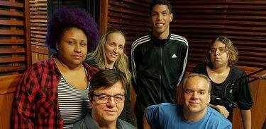Jose Freitas, Geraldo Nogueira, Ana Peixoto, Vinicius Jordan, Cadu Freitas e Priscila Oliveira