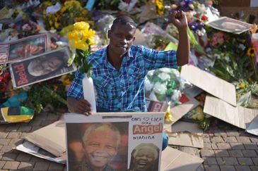 Homenagens a Nelson Mandela depois da morte do líder sul-africano