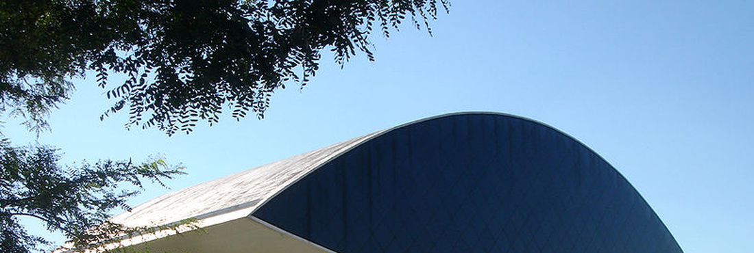 Museu Oscar Niemeyer, em Curitiba (PR)