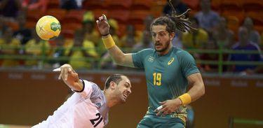 Brasil é eliminado no handebol masculino