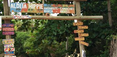 Aldeia Hippie em Arembepe