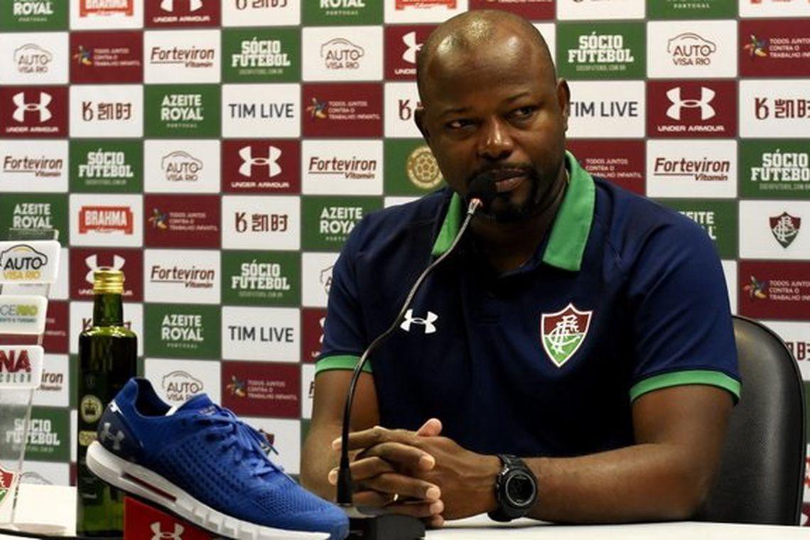 Marcão, técnico do Fluminense