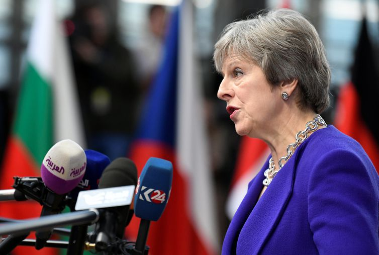 Theresa May, União Européia