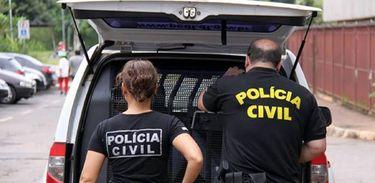 A Polícia Civil do Distrito Federal faz operação - Foto Sinpol/DF